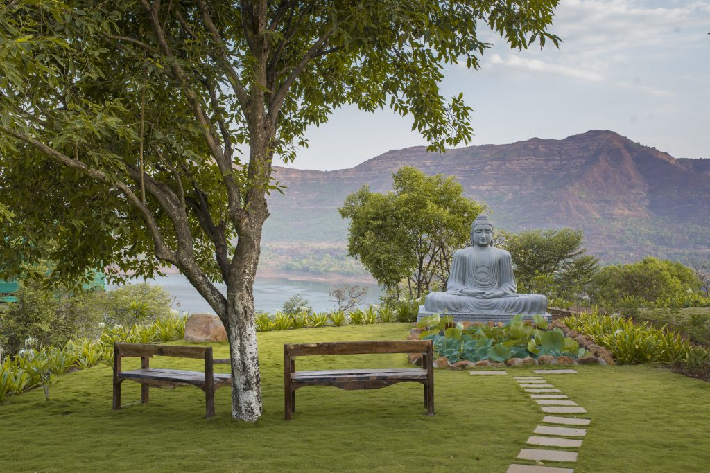Atmantan Offers A Curated Programme Of Meditation And Wellness. The Divine Buddha At Atmantan Wellness Centre