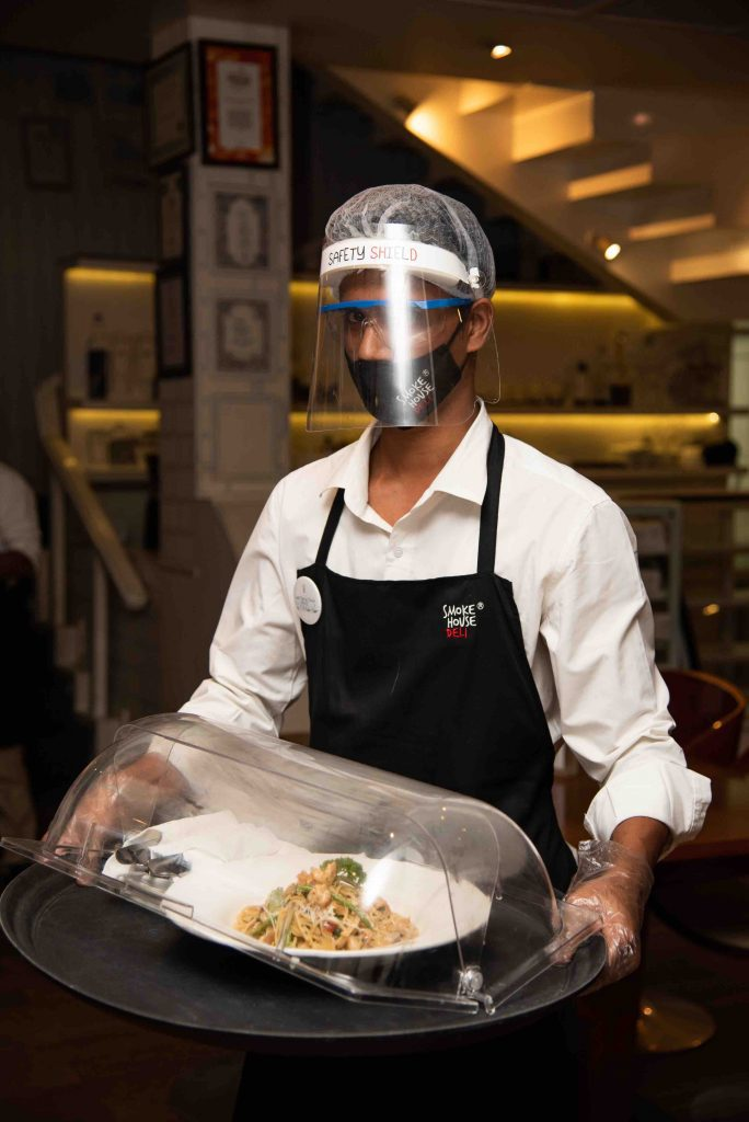 Contactless Dining And Fully Ppe Kitted Waiters Is The Immediate Future Of Restuarants.