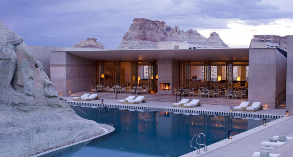 Resorts Such As Amangiri In Utah Are Attracting Americans Looking For Rendezvous With Nature And The Outdoors.