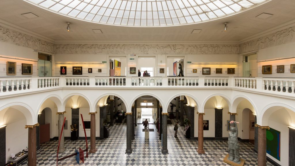 Scotland Has Opened Up Its Museums And Art Galleries To Travellers After A Four Month Long Lockdown. Aberdeen Art Gallery