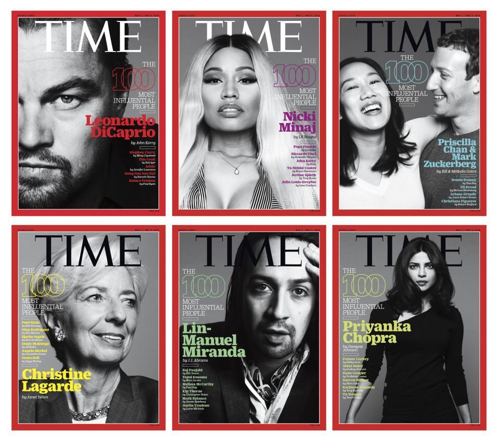 Time 100 Will Be Expanded To Davos.
