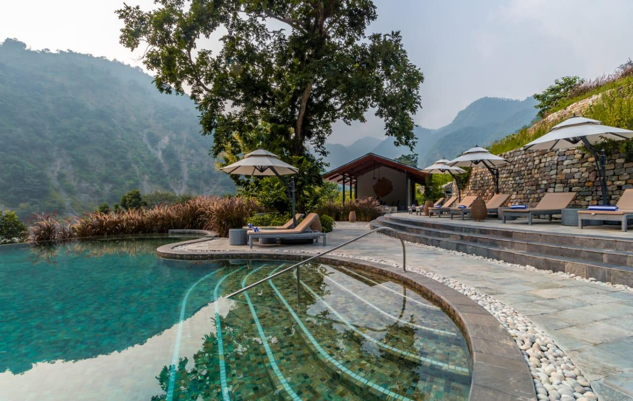 Hotels In Rishikesh Such As Taj Rishikesh Are Part Luxury, Part Gateway To The Destination S Spiritual Culture And Its Mountain Landscape.