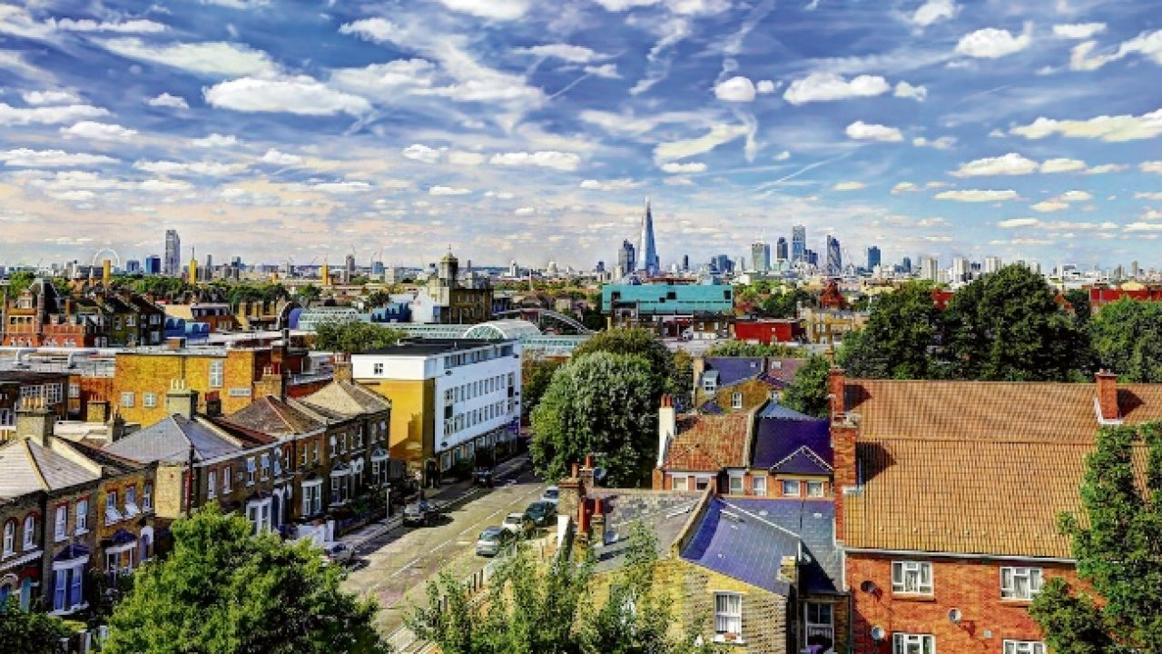Neighbourhoods Such As Peckham, Are Marked By Their Arty Vibe, Restored Homes Shimmering Under The British Sky.